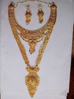 Gold plated jewelry sets