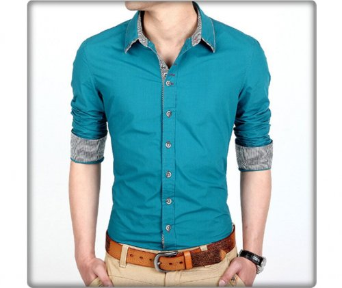 Full sleeve jents casual shirt 34
