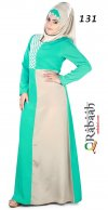 Fashionable muslim dress islamic clothing Rabaah Abaya Burka borka 131