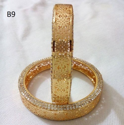 Gold Plated jewelry ornaments Bangles B-9