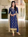 unstiched block printed cotton replica three pcs salwar kameez seblock-415