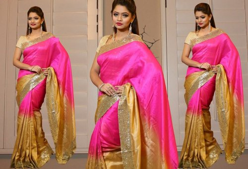 Weight Less Georgette saree SS-224
