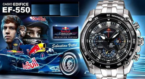 CASIO EDIFICE RED BULL EF-550RBSP-1AV