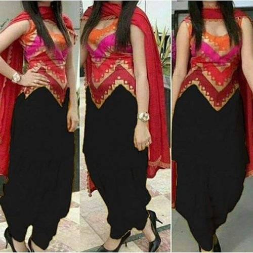 New stylish skin printed salwer kameez for woman-free size