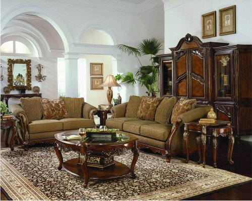 Marvelous Crown Sofa set Living Room Furniture