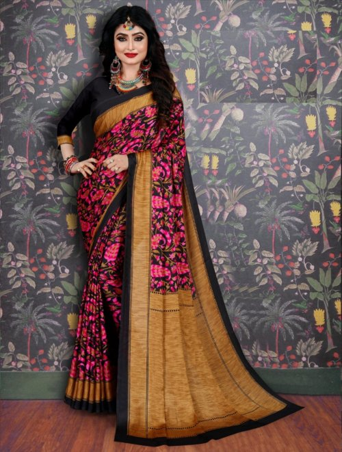 Soft Silk saree se-705