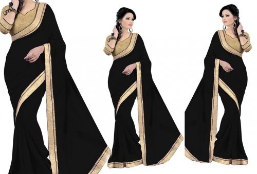 Weight Less Georgette saree SS-107
