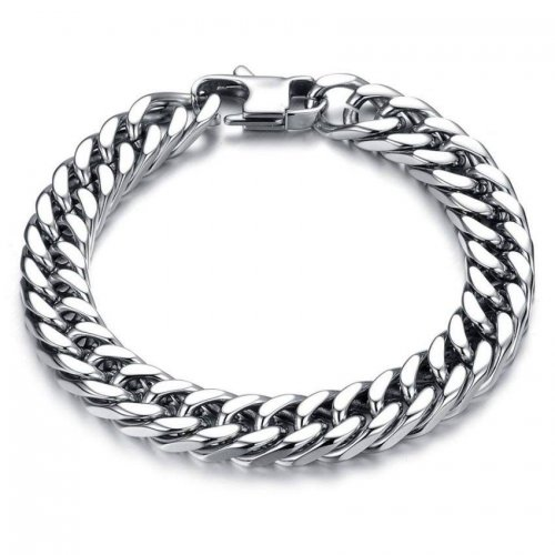 Fashion Punk Style Men's Classical Biker Chain Bracelet