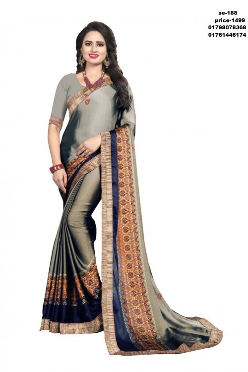 Indian Soft Silk Saree se-188