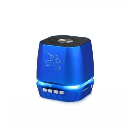 Wireless speaker bluetooth with led light T-2306A - Blue