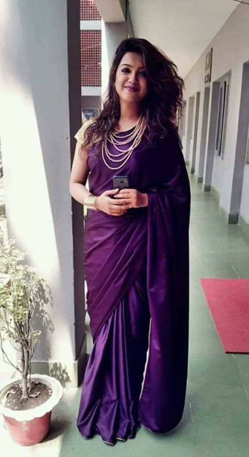 satin silk saree satin silk 8
