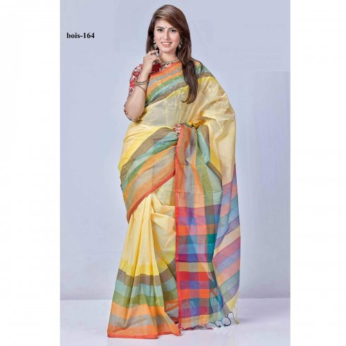tat cotton saree bois-164
