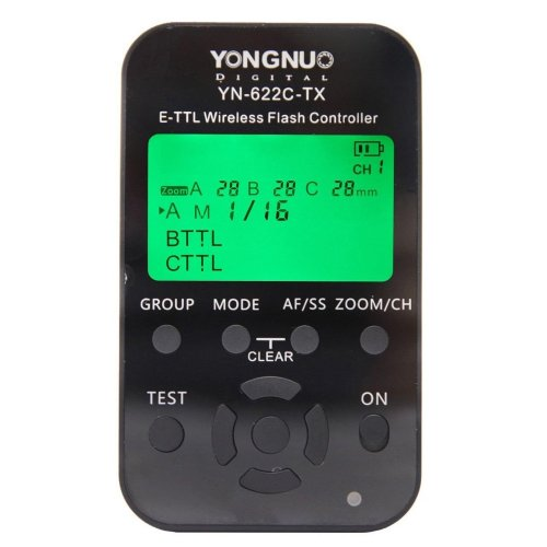 YONGNUO YN-622C-TX E-TTL Wireless Flash Controller for Canon