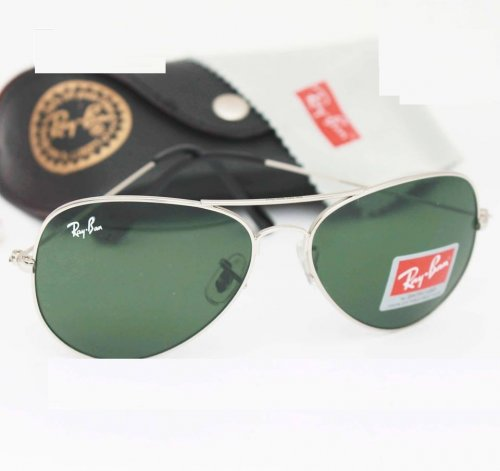 where to buy ray bans online c6da  Ray Ban Gents Pilot Silver Sunglass Replica SW4043
