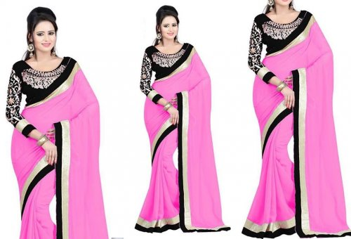 Weight Less Georgette saree SS-231