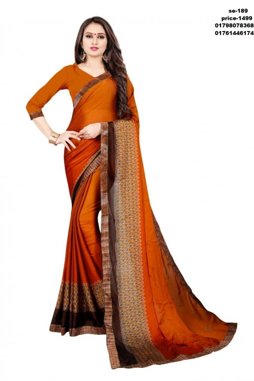 Indian Soft Silk Saree se-189