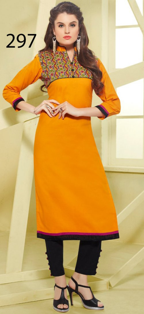 Latest Designers Kurti party wear ladies salwar suits 297