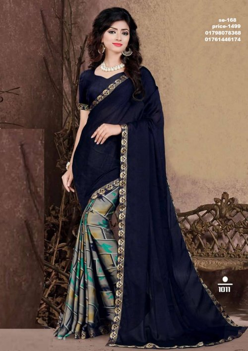Indian Soft Georgette Saree se-168