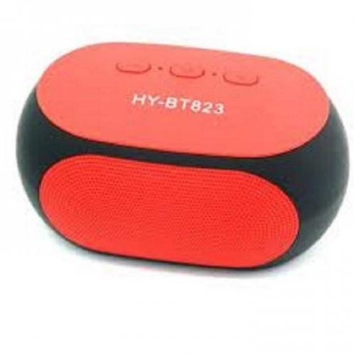 Mini Bluetooth speaker HY-BT823 speakers with FM radio function ( Red )