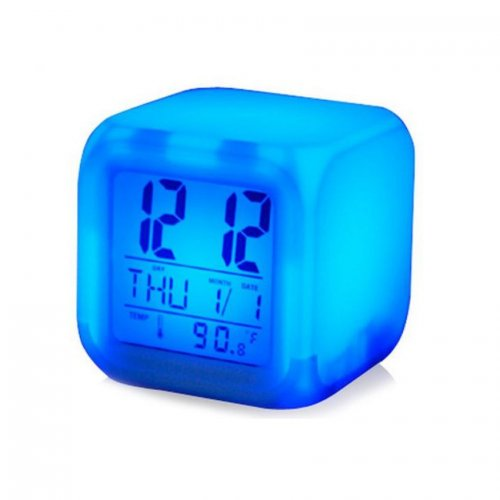 Color Changing LED Table Clock