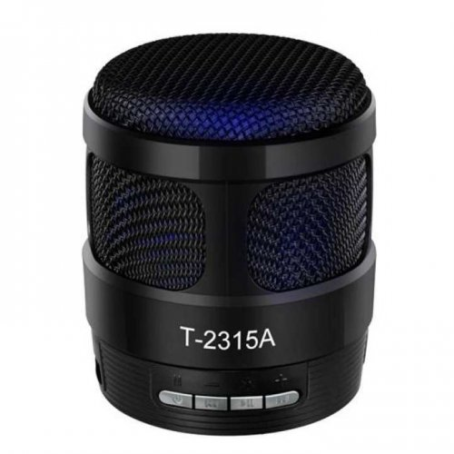 """Angel T2315A portable Wireless Bluetooth Speaker Metal Alloy"