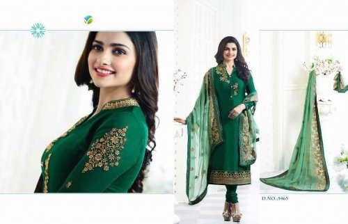 Unstiched prachi Three Piece KA 5465D