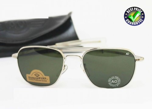 American Optical Diamond Silver Sunglass SW4005