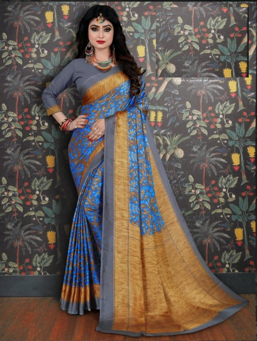 Soft Silk saree se-714