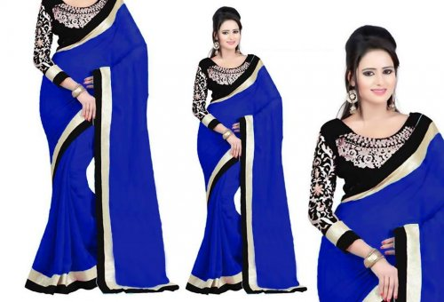 Weight Less Georgette saree SS-161