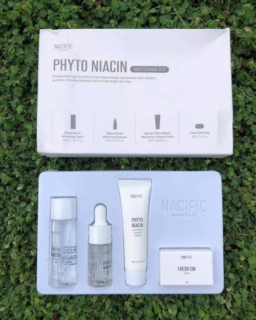 Nacific whitening phyto niacin travel kit