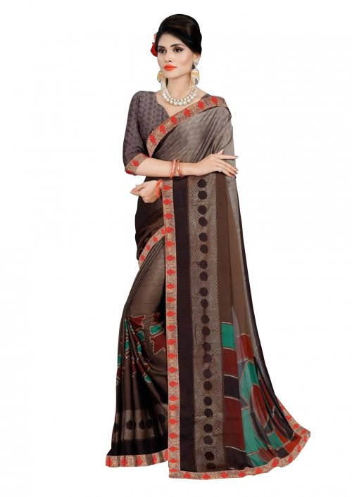 Indian Soft Silk Saree se-209