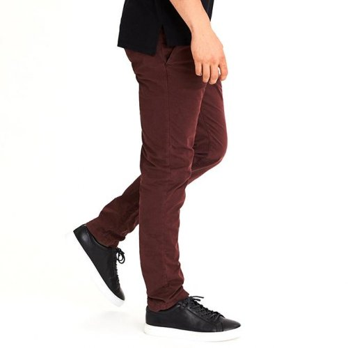New Fashion, Mens Twill Gabardine Slim Straight High Quality Fabric