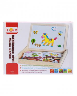 3d Magnetic Wooden Drawing Board Bnt50