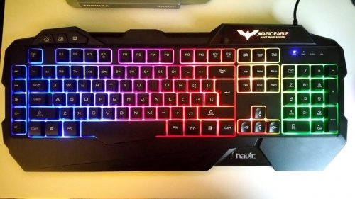 QS TECH USB Gaming Lighting Keyboard