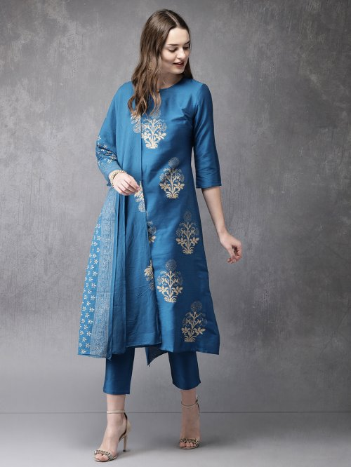 Latest Block Printed Salwar Kameez for Women