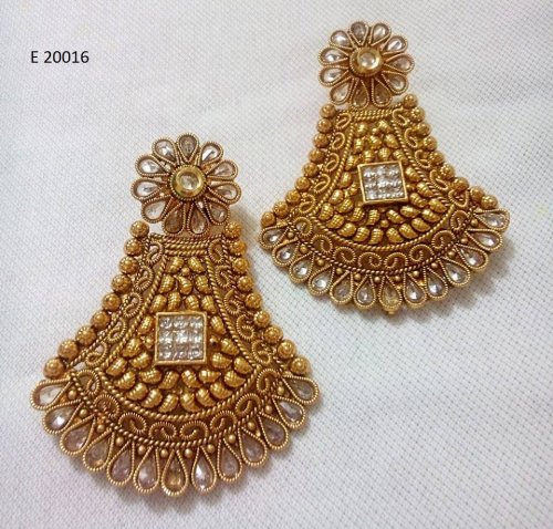 Gold Plated jewelry ornaments Earrings E-20016