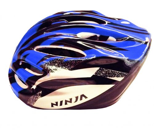Ninja Adult Cycling Helmet Blue