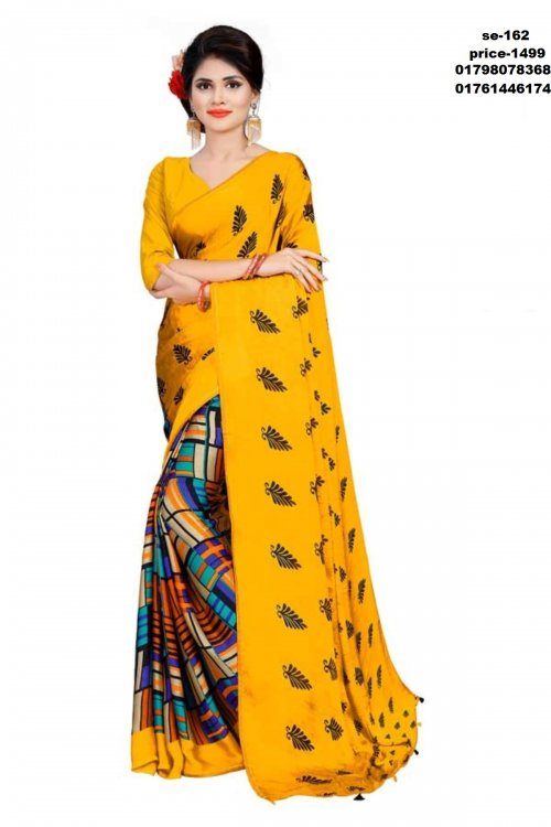 Indian silk saree se-162
