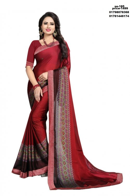 Indian Soft Silk Saree se-185