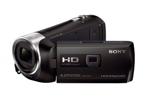 Sony HDRPJ275/B Video Camera with 2.7-Inch LCD