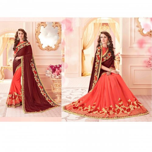 Weight Less Georgette saree SS-651