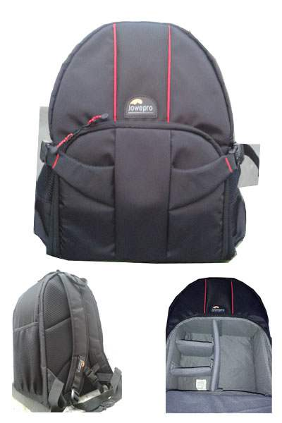 Jowepro Double Belt Camera Bagpack Black