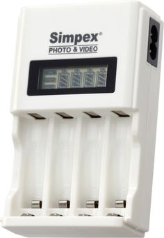 Simpex 333 Camera Battery Charger for AA/AAA/Ni-MH/Ni-CD