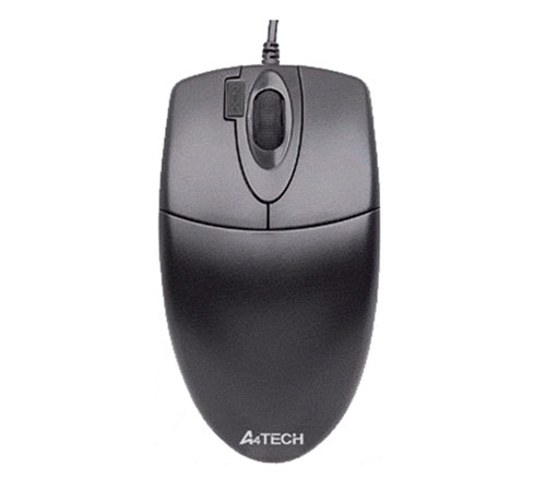 A4 Tech OP-620 BK, 800DPI Double-Click Optical Mouse, PS2