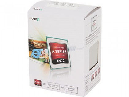 AMD AD4000OKHLBOX A4-4000 DUAL CORE RICHLAND 3.0/3.2GHZ APU FM2, HD 7480D GRAPHICS