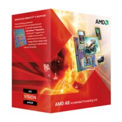 AMD PROCESSOR AD3500OJGXBOX AMD A6 X3 3500 APU, HD6530D, 65W