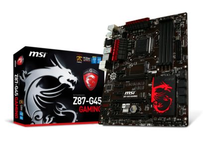 MSI Intel® Z87-G45 GAMING Express Chipset