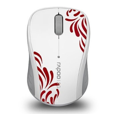Rapoo 3100P White 5.8Ghz Wireless Mouse