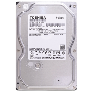 "Toshiba 2.5"" HDD 500GB SATA for Laptop"
