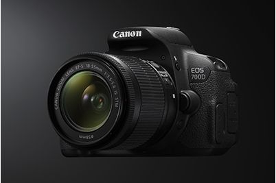 Canon 700D with 18-55mm III Lens